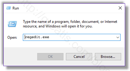 Remove BAGGIE SETUP virus from Windows registry