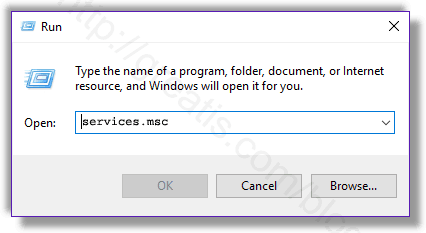 Remove MSDNS.EXE virus from Windows services