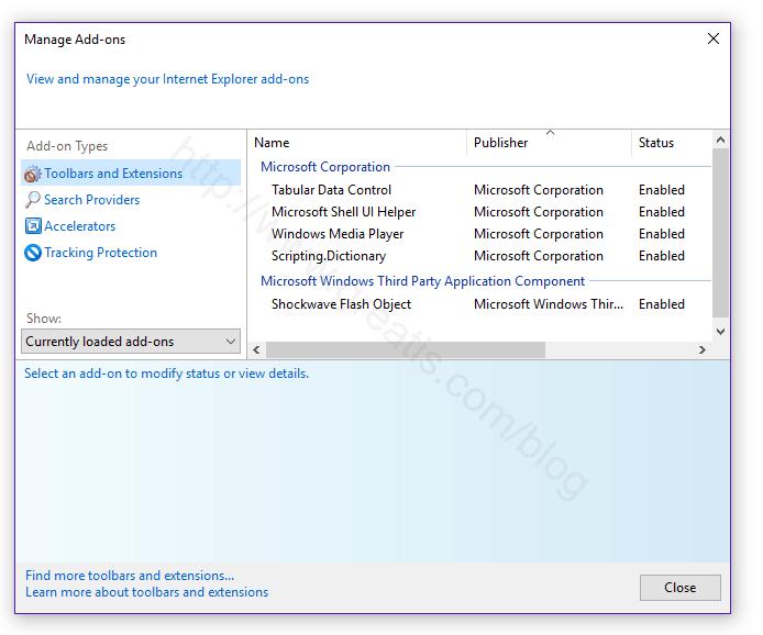 Remove malicious Internet Explorer add-on