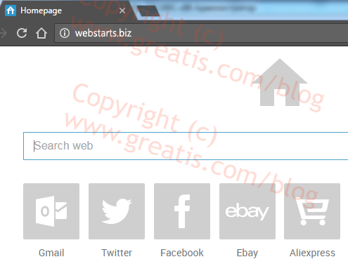 How to remove webstarts-biz ads