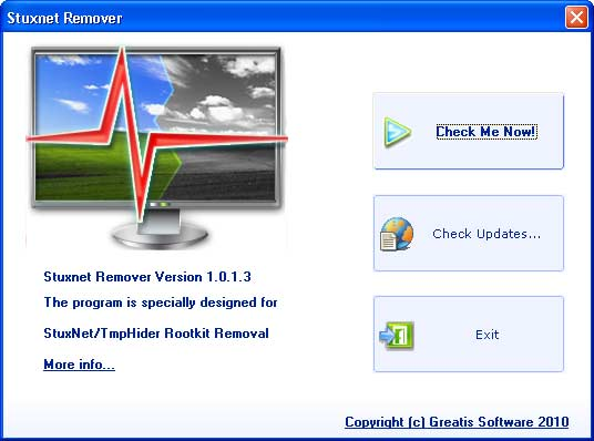 stuxnet removal tool