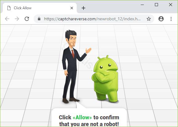 Remove CAPTCHAREVERSE.COM pop-up ads