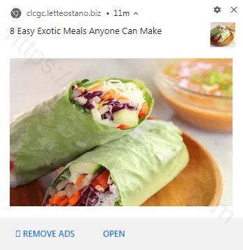 Remove LETTEOSTANO.BIZ pop-up ads