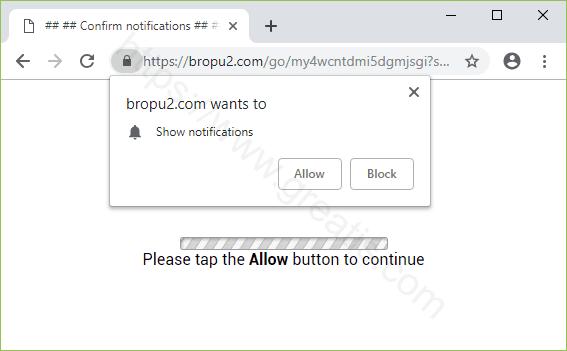 Remove BROPU2.COM pop-up ads