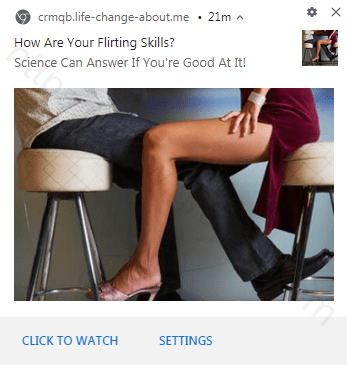 Remove LIFE-CHANGE-ABOUT.ME pop-up ads